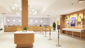The interior of the new Sunnyside dispensary in Philadelphia