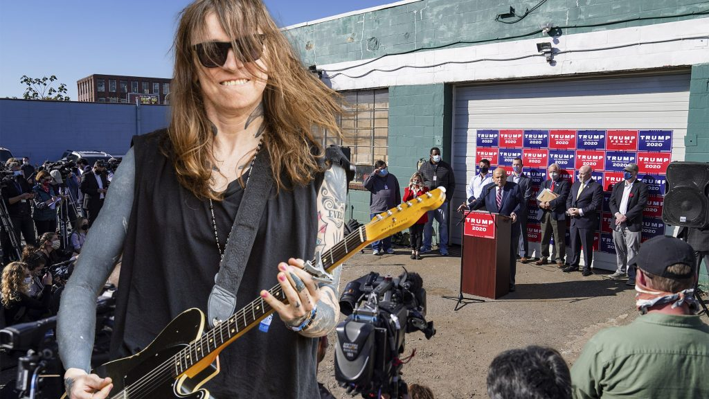 Musician Laura Jane Grace will perform at Four Seasons Total Landscaping in a sold-out concert in August 2021