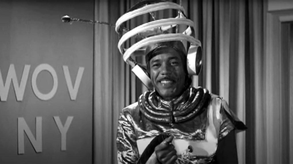 Henderson made an appearance in the 1957 movie 'Jamboree' alongside Dick Clark