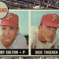 Larry Colton was a hot rookie in 1968