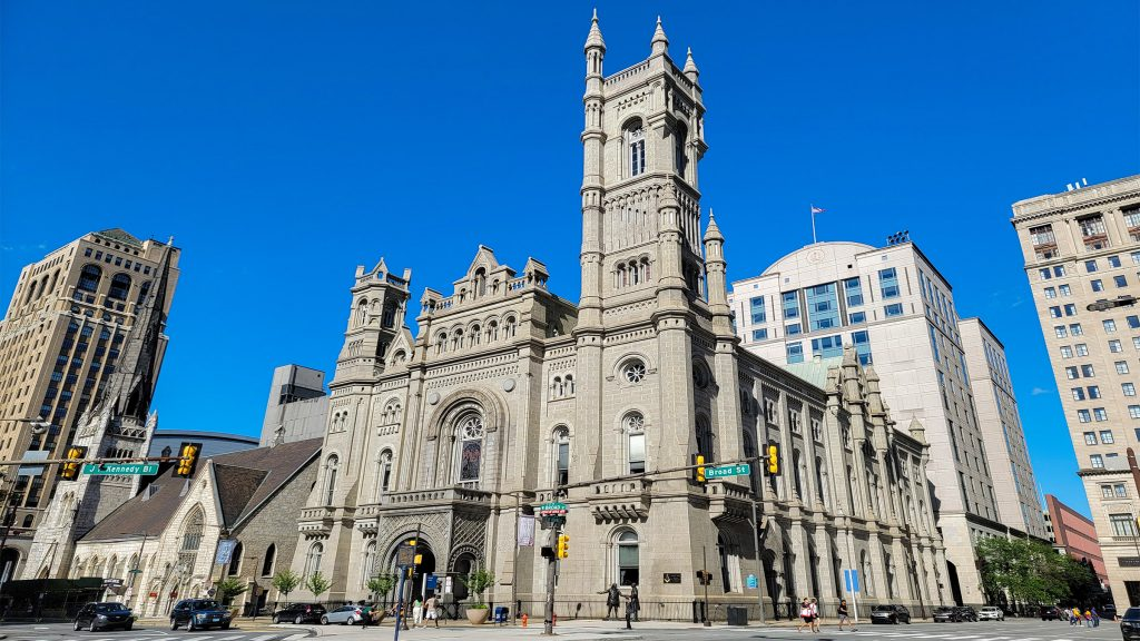 Completed in 1873, the Masonic Temple in the center of Philadelphia serves as the meeting place for more than two dozen Freemason lodges