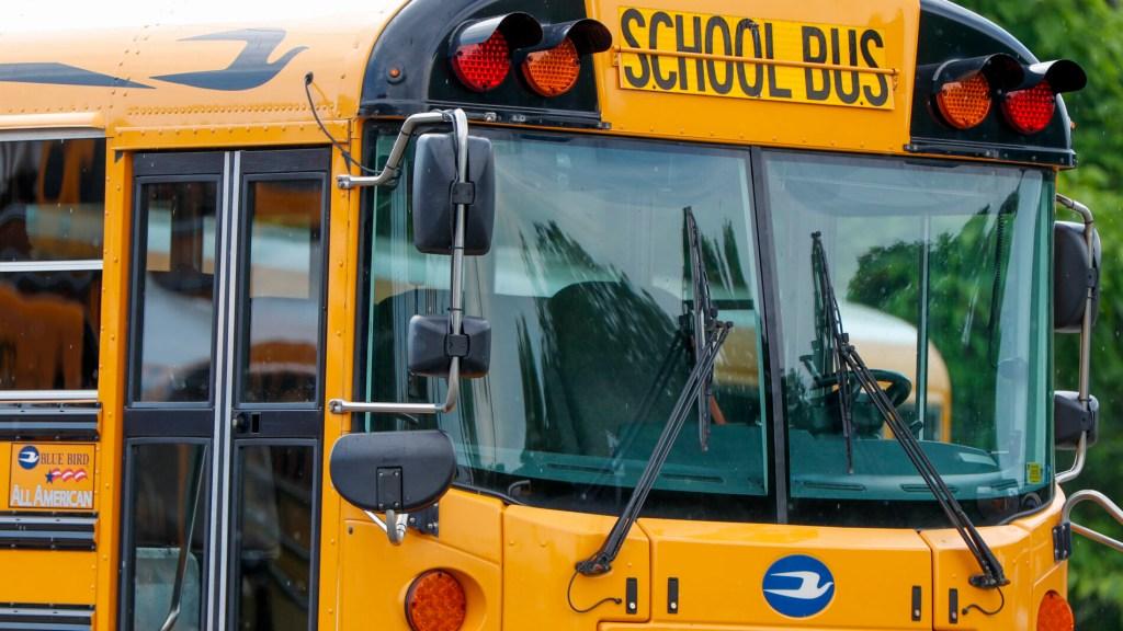Virus Outbreak School Buses