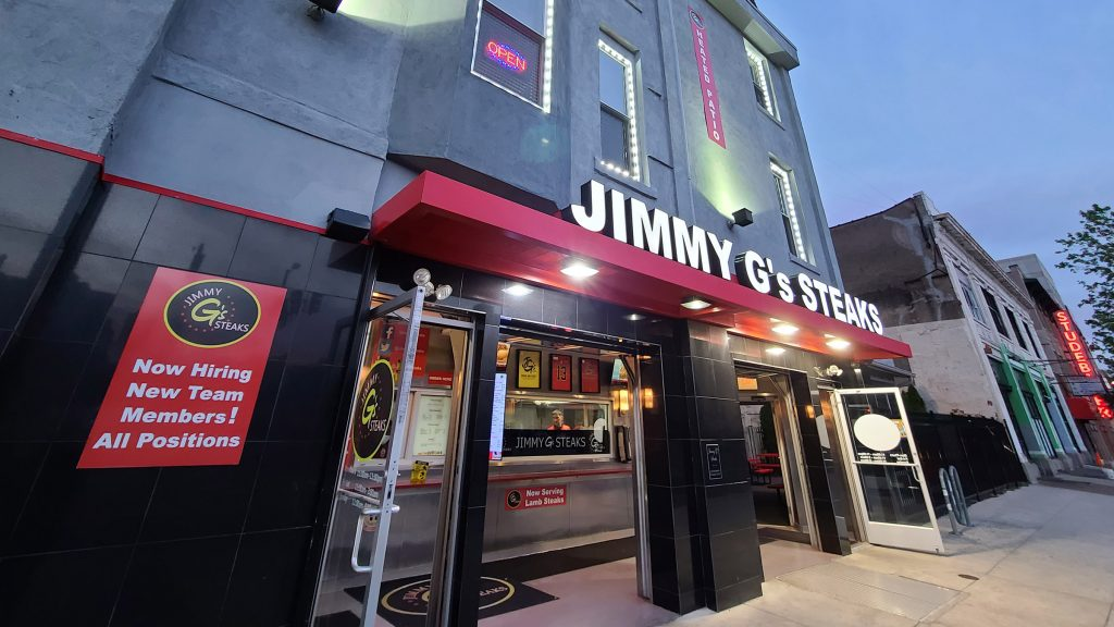 Jimmy G's Steaks at Broad and Ridge