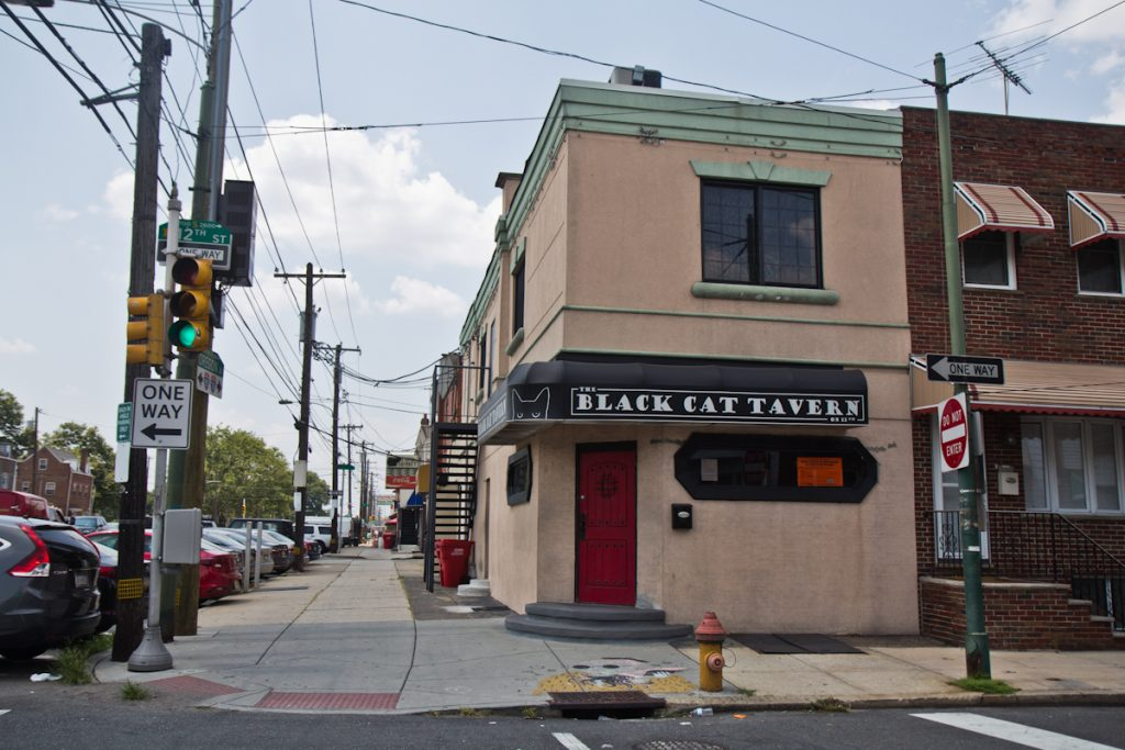 The Black Cat Tavern on Oregon Avenue