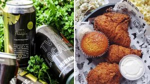 Beer from Two Locals and fried chicken from Love and Honey are now offered at Lincoln Financial Field