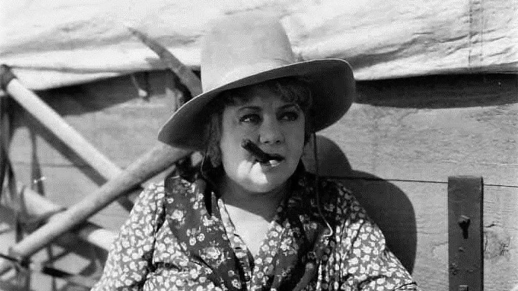 Actor May Boley in 'Fighting Caravans,' 1931