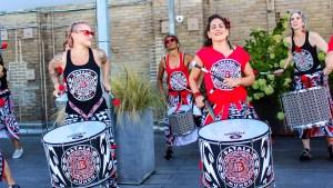 Batalá Philly is all an-volunteer chapter of an international performance organization