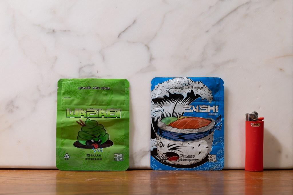 'Zushi' and 'Wazabi' bags from The Ten Co.