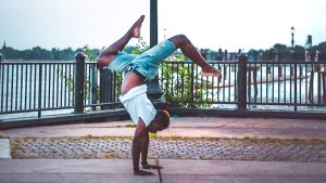 Meet James LeGette, the Philly native who's one of two men on the Eagles cheer squad this year