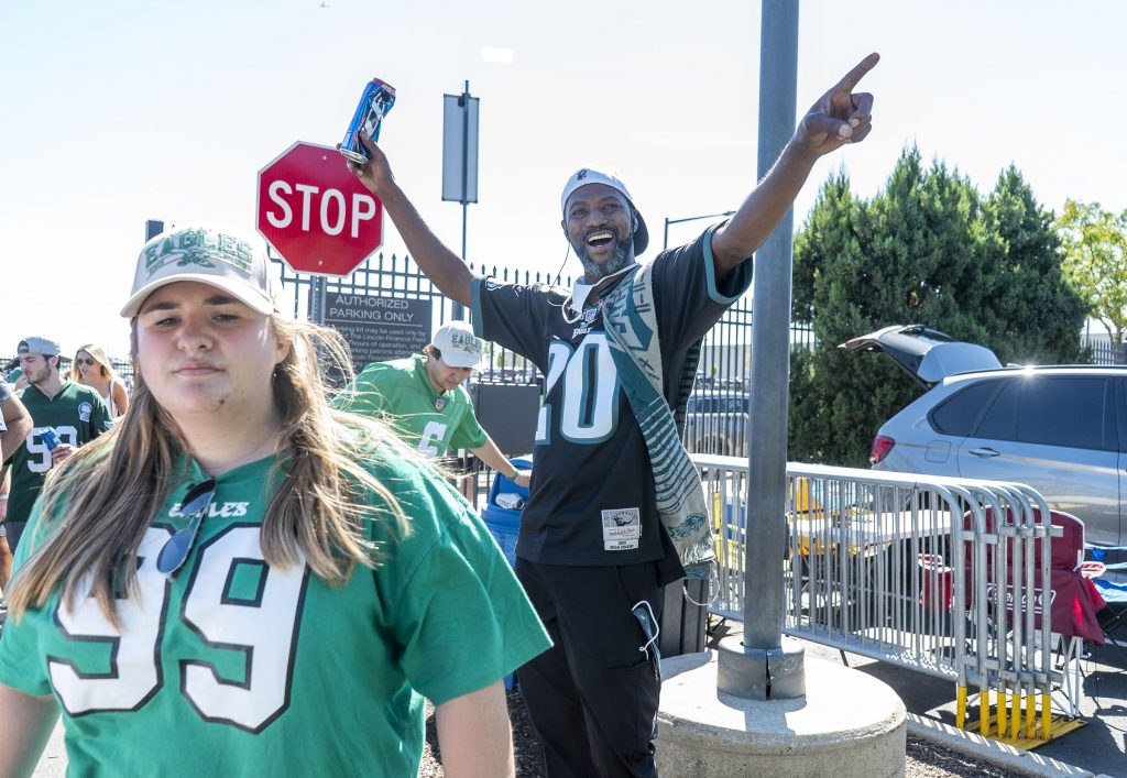 Scalpers were thrilled to have fans back in South Philly