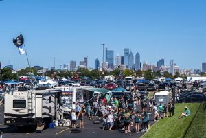 Photos: On an *almost* perfect day, Eagles fans tailgate for the first time in two seasons