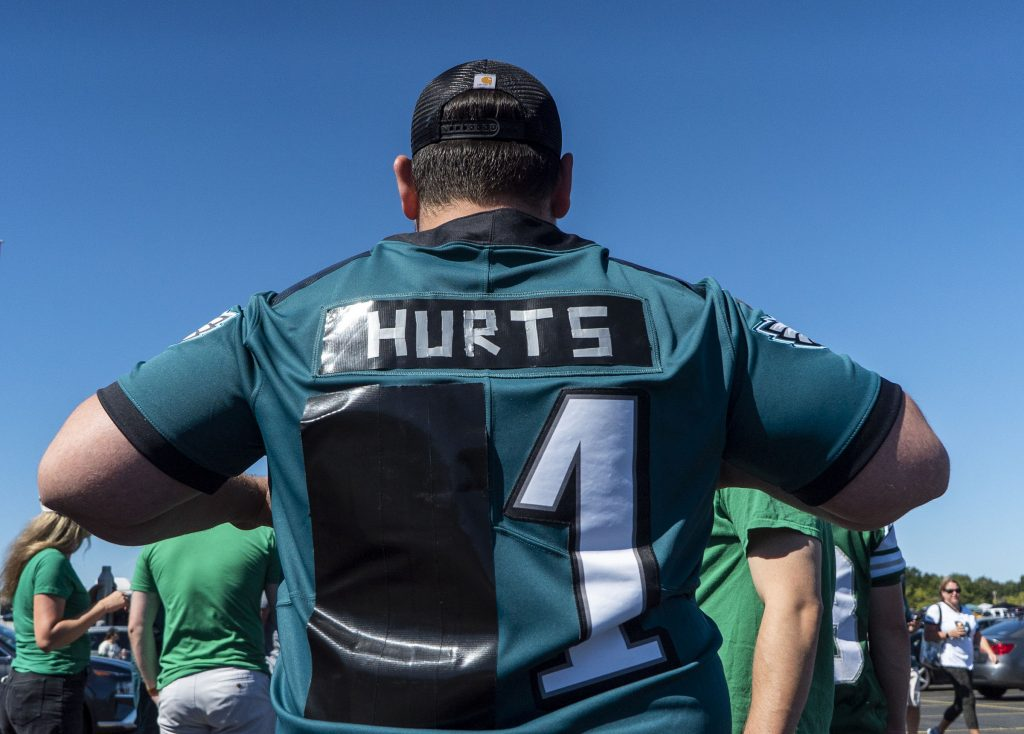 When your old quarter back had No. 11 and your new one has No. 1, a DIY jersey is easy