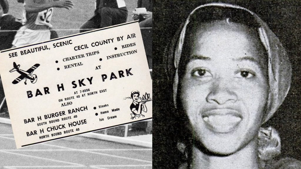 Eroseanna Robinson was one of the first athletes to protest injustice by not standing for the national anthem