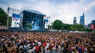 The crowds at Made in America 2019