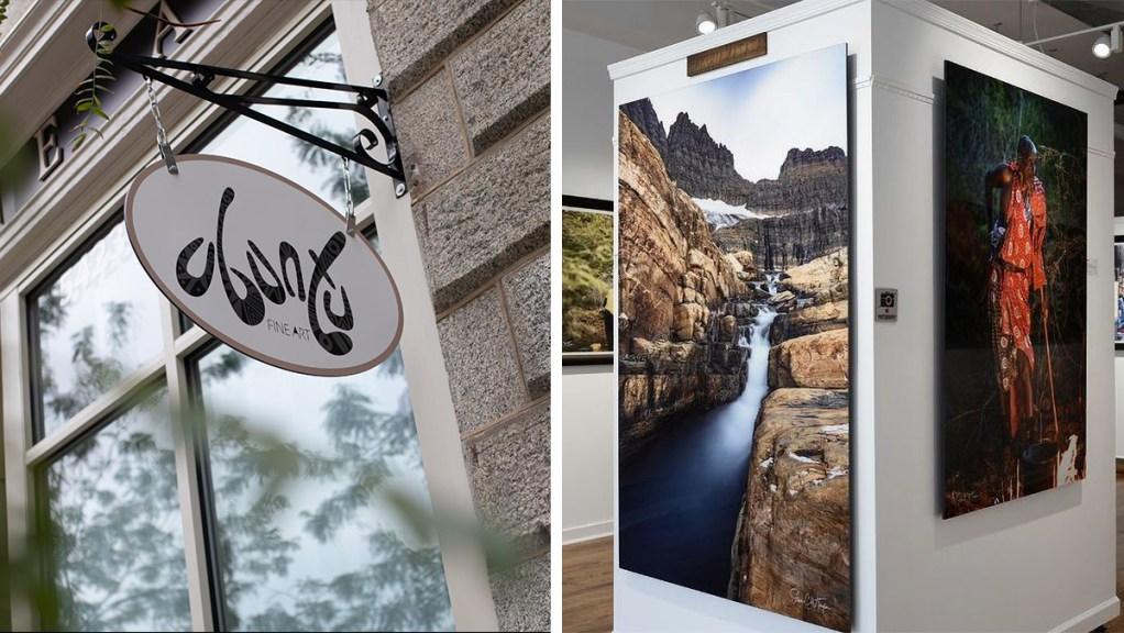 Ubuntu Fine Art Gallery in Germantown exclusively features artwork by its owner