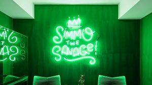 'Simmo the Savage': Everything we know about Ben Simmons' neon gaming sign