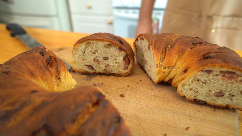 The lard bread at Freelance Pizza