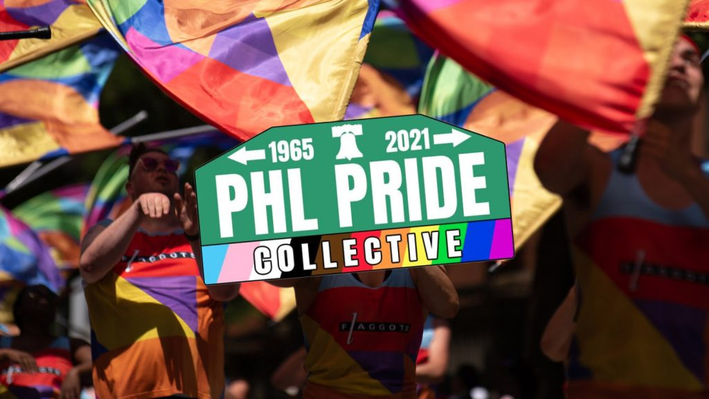 The new PHL Pride Collective logo