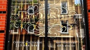 Exterior of Tat215ive shop